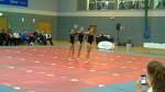 Holly, Sarah & Laura at East Dunbartonshire School Gymfest
