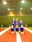 Gymnasts on the Tumble Track