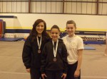 Laura, Holly & Sarah Silver Medal winners