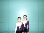 Holly and Sarah - Scottish silver medallists 2012, G2 WP and G2 WG