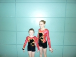 Dani and Hazel - 4th place Scottish Finals, G1 WP