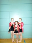 Fiona, Codie and Emma - Scottish bronze medallists 2012, G2 WG
