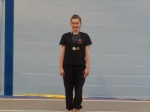 Sarah Finlay wins bronze at Tumble Comp - National 2 13yrs +