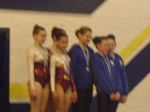 Grade 3 WG of Laura Mcmillan, Sarah Finlay and Holly Kelly win gold in Dynamic