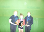 Fiona, Codie and Emma - Highest Scoring Trio