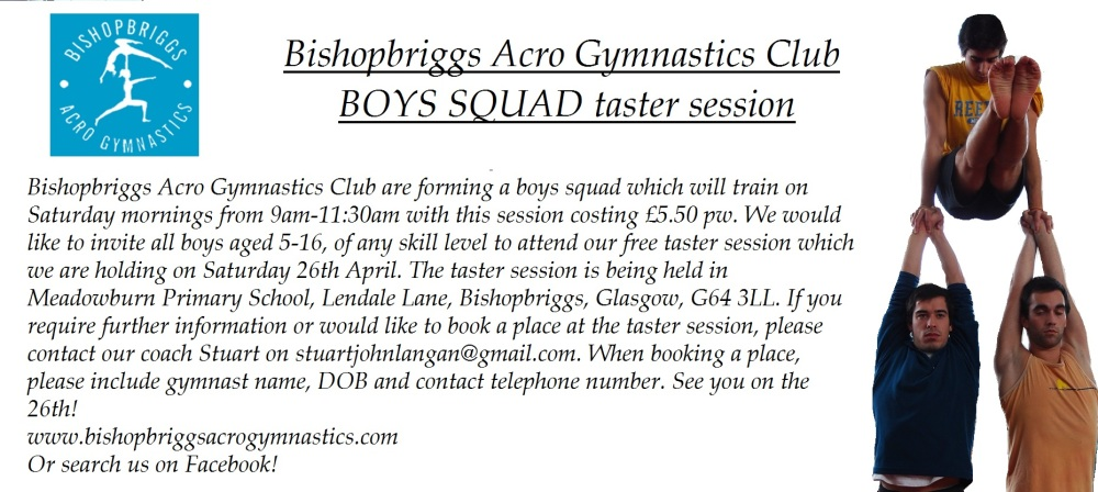 Boys Squad Taster Session